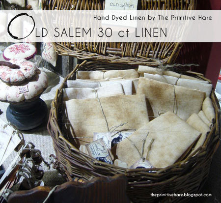 Old Salem Linen 30 count