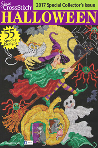Just Cross Stitch Halloween Issue 2017